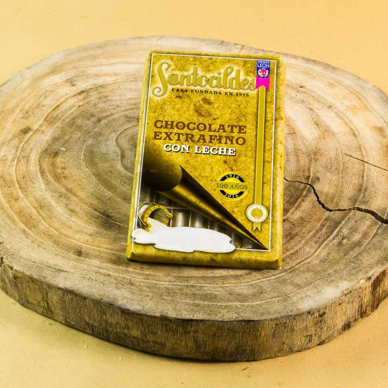 Comprar el mejor Chocolate Santocildes con Leche Extrafino