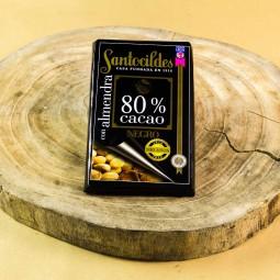 Comprar el mejor Chocolate Santocildes Negro 80% con Almendras