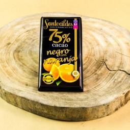 Comprar el mejor Chocolate Santocildes Negro 75% con Naranja