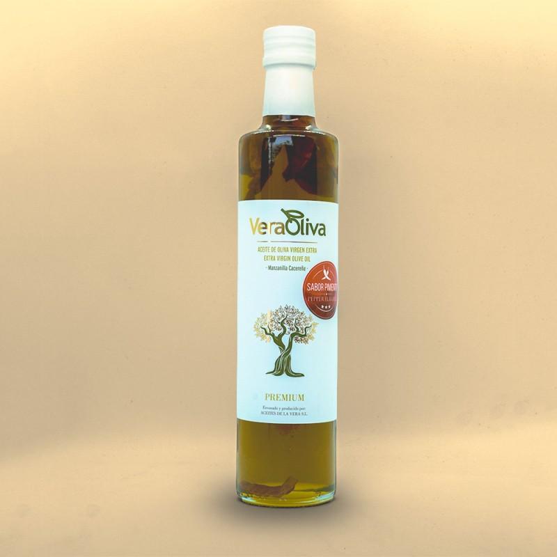 Comprar Aceite Sabor Pimiento VeraOliva 550 ml