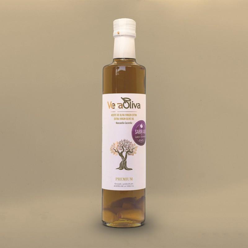 Comprar Aceite Sabor Ajo VeraOliva 550 ml